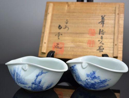 Sencha Yuzamashi Cooling Pots by Fuji Kaho