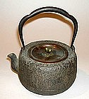 MEIJI period Japanese IRON TEA POT