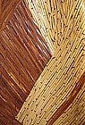 MODERN Japanese BAMBOO BASKET by TOSHO
