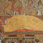 Edo p. Japanese Buddhist Painting, Nehanzu