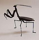 Jizai Articulated Iron Praying Mantis, Tomiki Munenobu