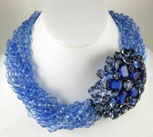 Gorgeous Sherri Jennings Italian Necklace & Earrings