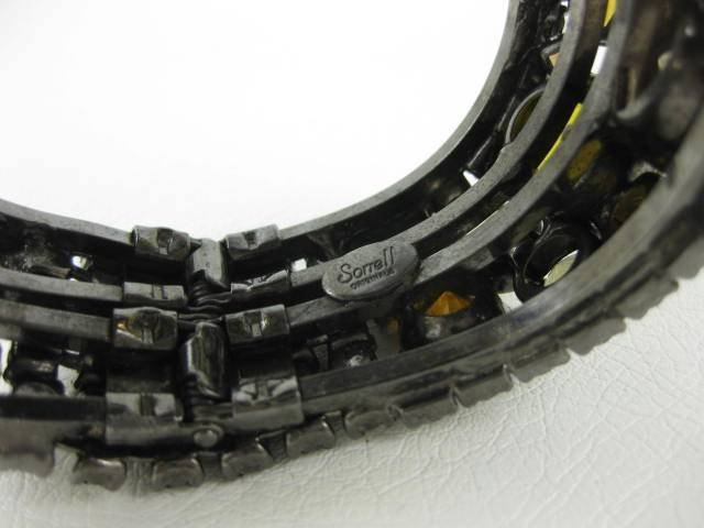 Spectacular Robert Sorrell Topaz Runway Bracelet