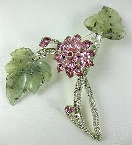 Spectacular Robert Sorrell Tremblant Flower PIn