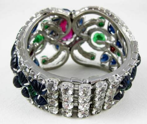 Magnificent Robert Sorrell Fruit Salad Runway Bracelet