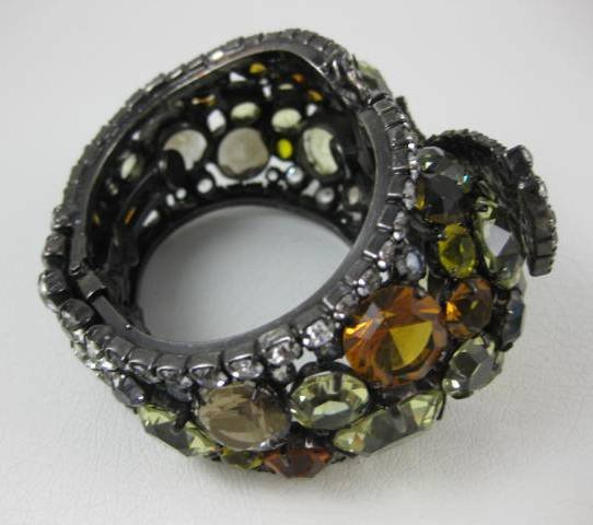 Amazing Robert Sorrell Topaz Clamper Bracelet