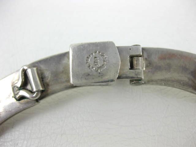 Fantastic Antonio Pineda Design Sterling Onyx Necklace