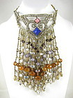 Gorgeous Iradj Moini Fringe Bib Necklace