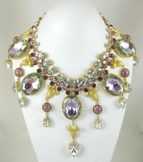 Magnificent Sherri Jennings Bib Necklace