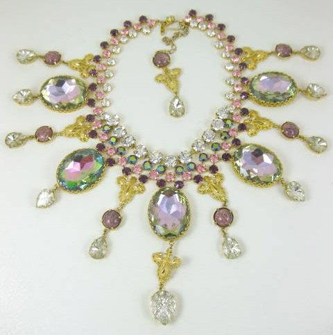 Magnificent Sherri Jennings Bib Necklace