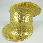 Chic Clara Studios Hammered Gold Cuff Bracelet