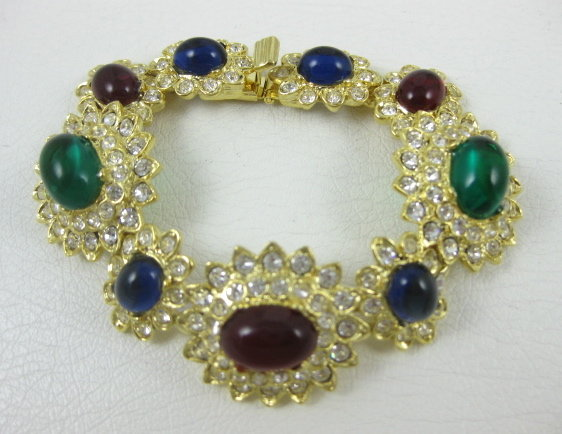 Iconic Jackie O Kenneth Jay Lane Bracelet
