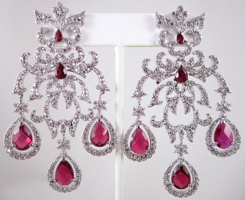 Magnificent Mogul Girandole Chandelier Earrings