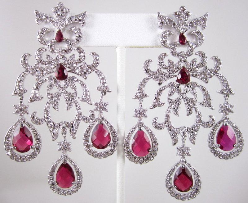 Magnificent Mogul Girandole Chandelier Earrings