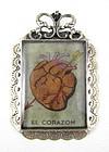"Felipe Barbosa Heart ""El Corazon"" Lottoria Pendant"