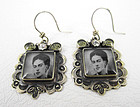 Felipe Barbosa Frida Kahlo Earrings