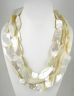 Lovely Viktoria Hayman Freeform Shell Necklace