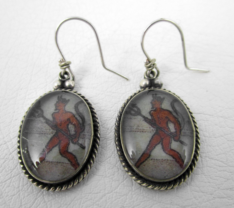 Wicked Felipe Barbosa Devil Pierced Earrings