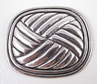 Classic William Spratling Sterling Petate Pin