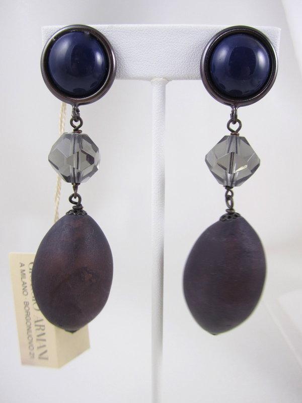 Vintage Giorgio Armani Collezioni Necklace & Earrings