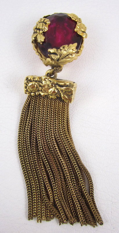 Stunning Robert Goossens Yves Saint Laurent Earrings