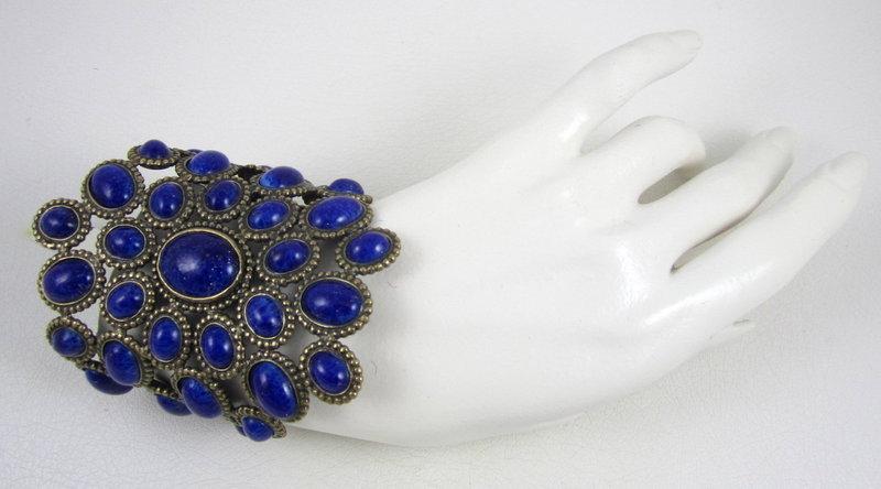 Dramatic Andrew Gn Paris Runway Cuff Bracelet