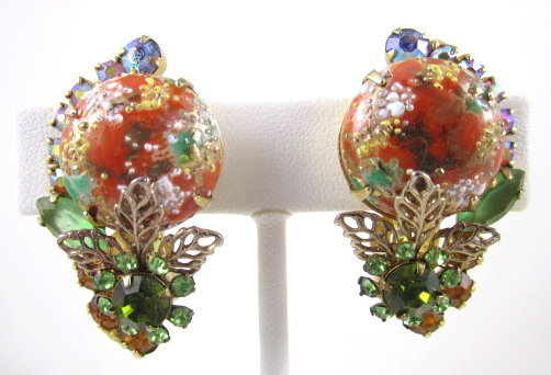 Delizza & Elster Juliana Easter Egg Cabochon Earring