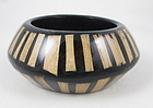 Bold Kenneth Jay Lane Wood & Resin Bangle Bracelet