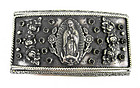 Lovely Barbosa Virgin Mary Compartment Belt Buckle