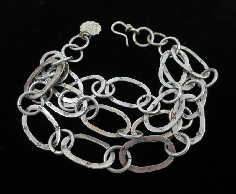Classic Barbosa Stars Link Bracelet
