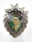 Divine Barbosa Frida Kahlo Adjustable Ring
