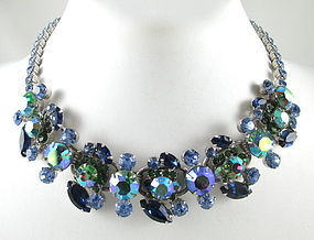 Lovely Delizza & Elster Juliana Rhinestone Necklace
