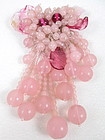 Gorgeous Frank Hess for Miriam Haskell Dress Clip Pin