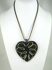 Unusual Yves Saint Laurent Limited Edition Necklace