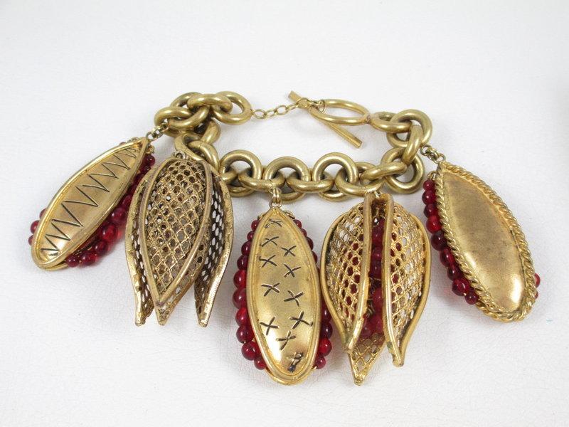 Outstanding Maison Gripoix for Isabel Canovas Bracelet