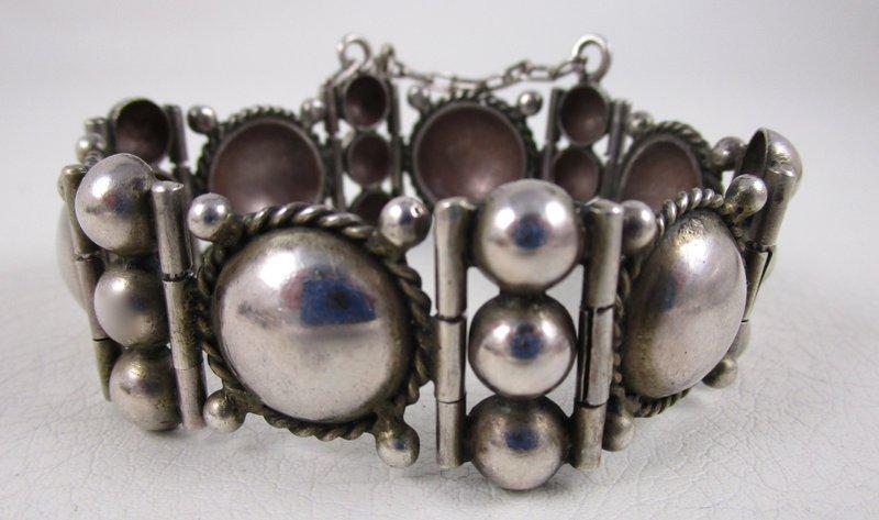 Wonderful William Spratling Mexican Silver Bracelet