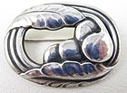 Beautiful Early Georg Jensen Art Nouveau Pin