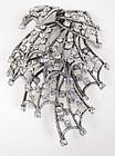 Scarce Elsa Schiaparelli Layered Rhinestone Pin
