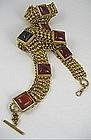 Chic Isabel Canovas Gripoix Glass Belt