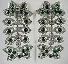 Kenneth Jay Lane KJL Rhinestone Chandelier Earrings