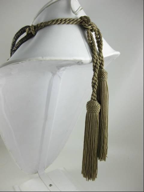 Valentino Garavani Snake Tiger Eye Runway Necklace