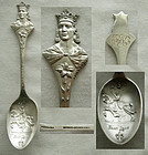 "Mermod, Jaccard ""St. Louis"" Sterling Souvenir Spoon"