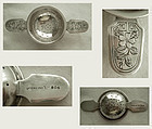 The Merrill Co. Arts & Crafts Sterling Silver Tea Strainer