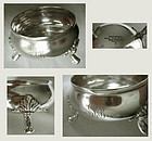Tiffany Footed Sterling Silver Master Salt