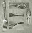 "Heavy Wendt ""Diana"" Sterling Silver Dinner Fork"