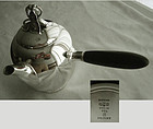 "Gorham No. 791 ""Hibiscus"" Sterling Tea Pot"