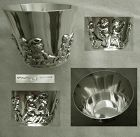 W. B. Meyers, Newark, Small Sterling Cup with Applied Putti