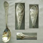 "Tiffany ""Japanese"" Sterling Silver Jelly Spoon, Old & Original"