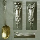 "Tiffany ""English King"" Sterling Silver Salad Spoon, Older"