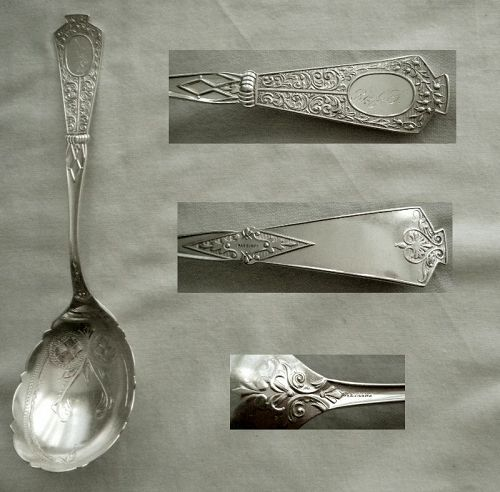 "Joseph Seymour ""Duchess"" Sterling Silver Berry Spoon"